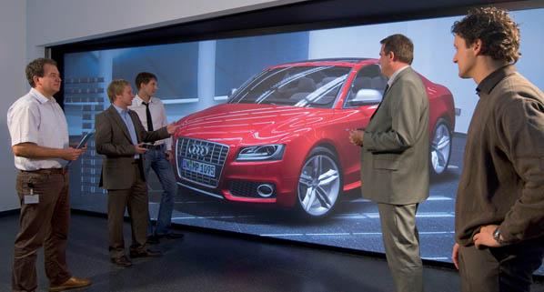 Diseño de automóviles y realidad virtual en Audi