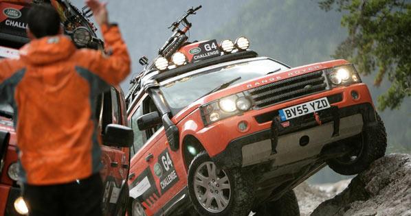Apúntate al Land Rover G4 Challenge