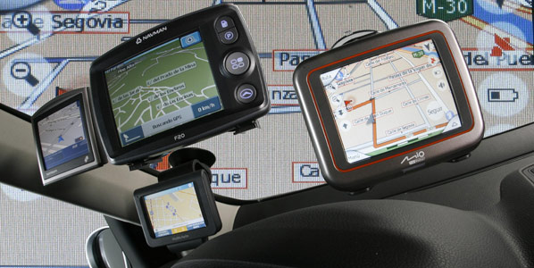 Denominaciones franquistas en el GPS