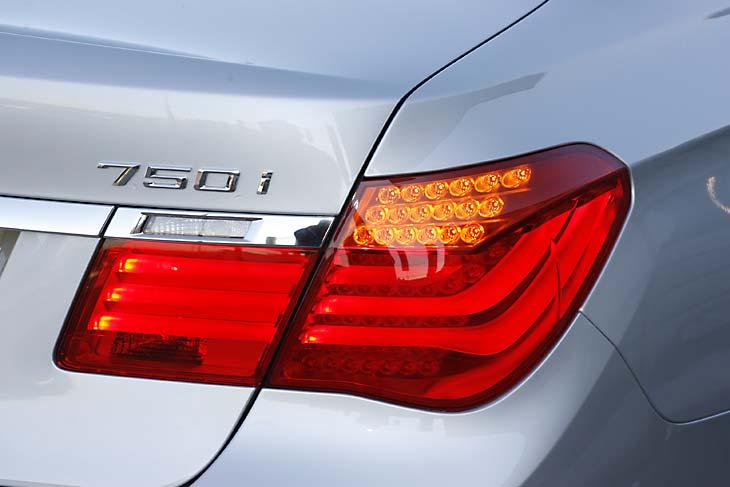 BMW 750i  al detalle