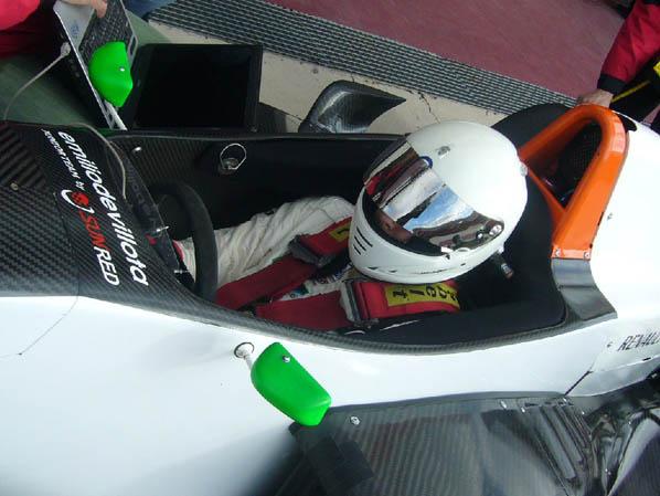 Emilio de Villota prueba pilotos