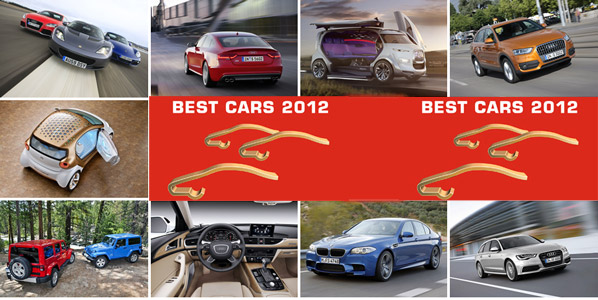 Best Cars 2012, los mejores coches del año