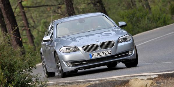 BMW ActiveHybrid 5, híbrido y exclusivo