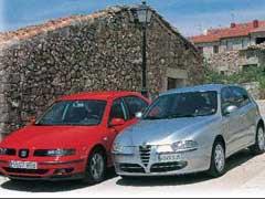 Alfa 147 JTD Distinctive / Seat León 1.9 TDi Sport