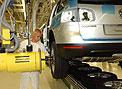 La producción de vehículos, en forma