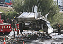 Un camionero dormido pone en jaque a la AP-7