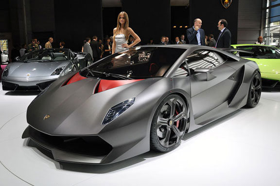 Lamborghini Sesto Elemento, brutal deportivo