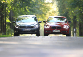 BMW 118 Línea Sport vs VW Golf 1.4 TSi Sport