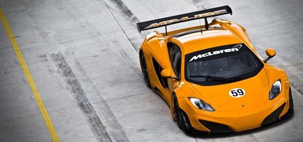 McLaren MP4-12C GT3, preparado para salir a pista
