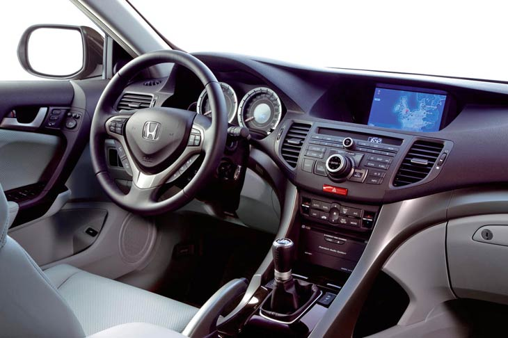 Interior del Honda Accord Sedan