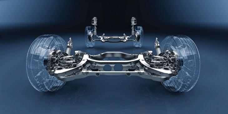 Lexus RX450h detalles de técnica