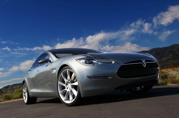 Tesla Model S, nuevo sedán eléctrico