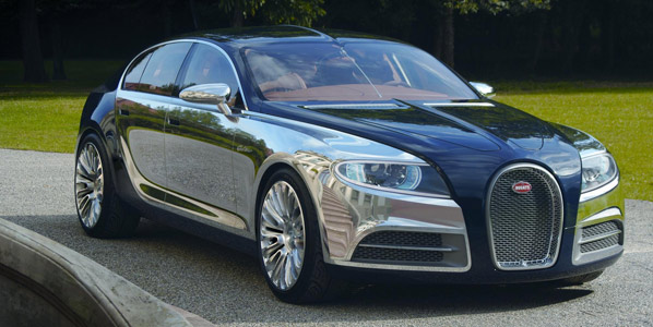 Bugatti 16C Galibier, sedán a todo lujo
