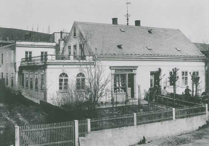 Casa natal de Ferdinand Porsche.