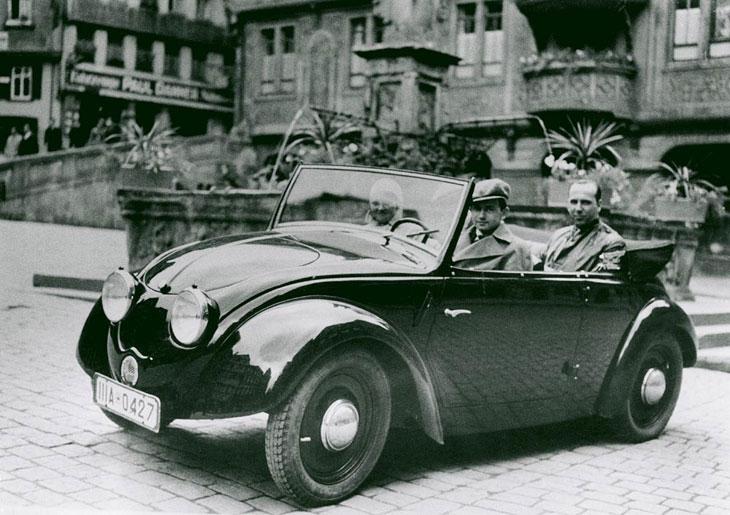 Uno de los primeros prototipos del Volkswagen