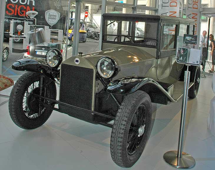 Lancia Lambda, un adelantado a su tiempo.