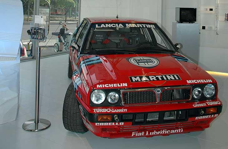Artemóvil: exposición de Lancia en Madrid