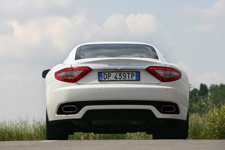 Maserati Gran Turismo S: detalles