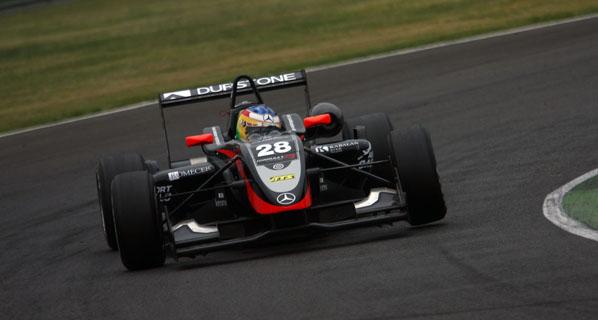 F3 Euroseries: Mehri remonta y acaba sexto.