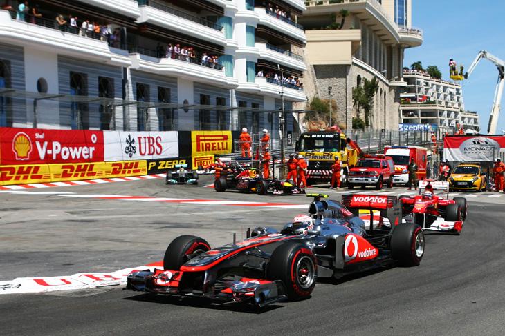 GP de Monaco de F1 2011.