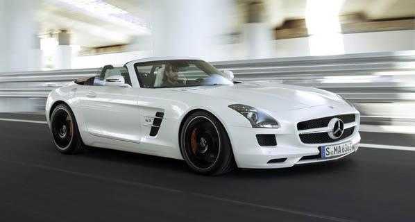 El Mercedes SLS AMG Roadster, presentado oficialmente