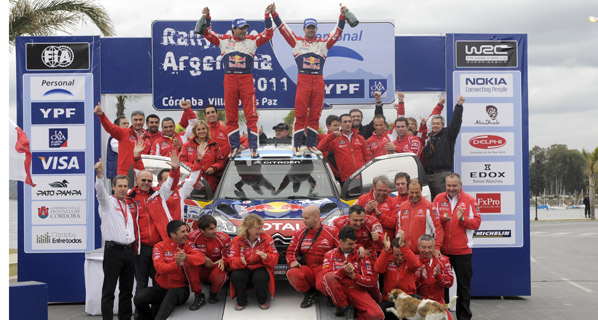 Loeb se hace con el triunfo en Argentina