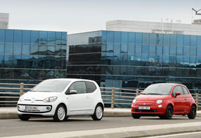 Fiat 500 TwinAir vs Volkswagen Up! 75