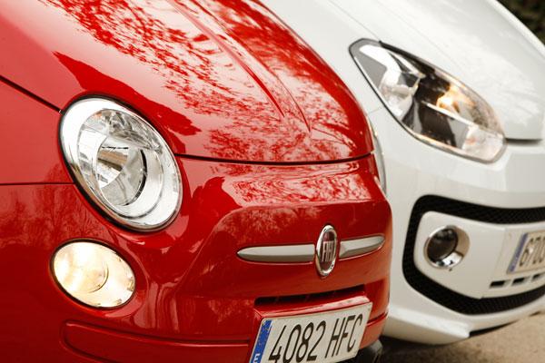 Fiat 500 TwinAir vs Volkswagen Up! 75