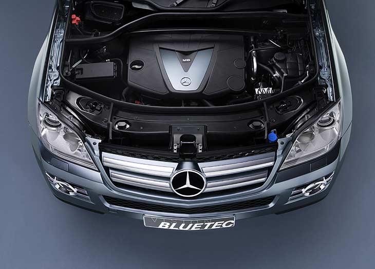 Mercedes Bluetec.