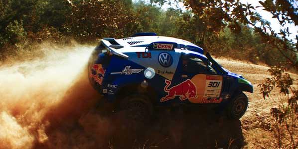 Sainz se coloca líder del Rally Dos Sertoes