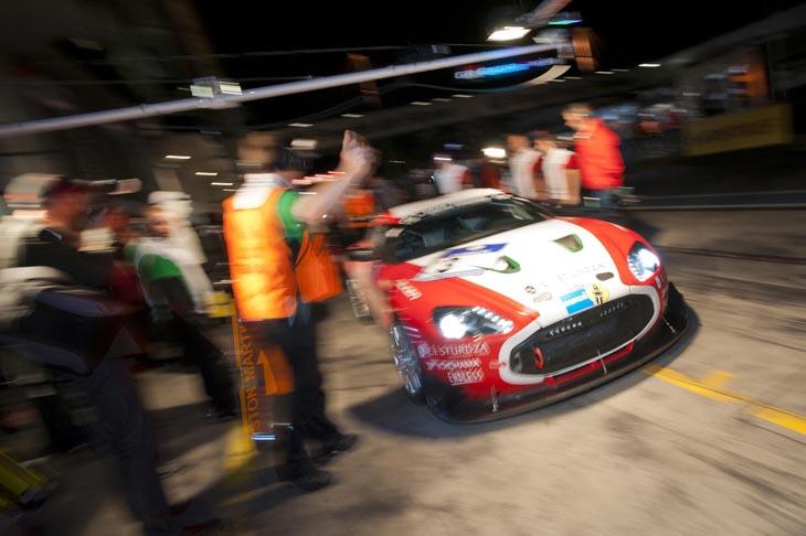 Aston Martin V12 Zagato Race Car.