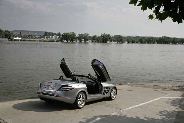 Conducimos el Mercedes SLR