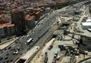 Menos tráfico en el Nudo Sur de Madrid