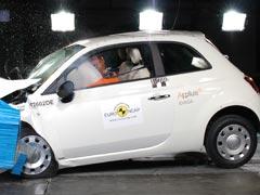 El Fiat 500 logra cinco estrellas EuroNCAP