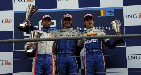 GP2 Bélgica: Roldán Rodríguez acaba segundo