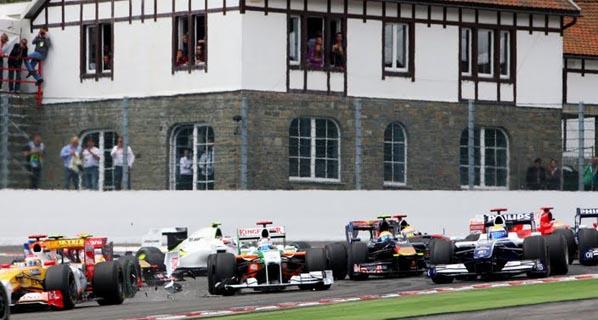 F1: Raikkonen se reencuentra con la victoria en Bélgica