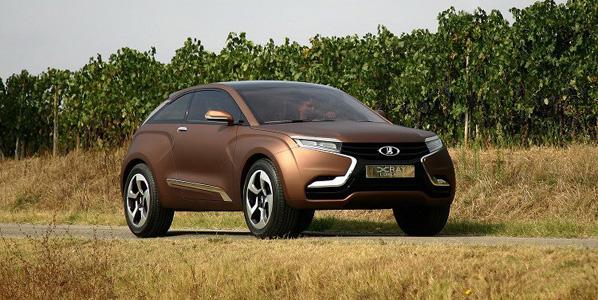 AutoVAZ Xray Concept, el SUV de lujo desde Rusia