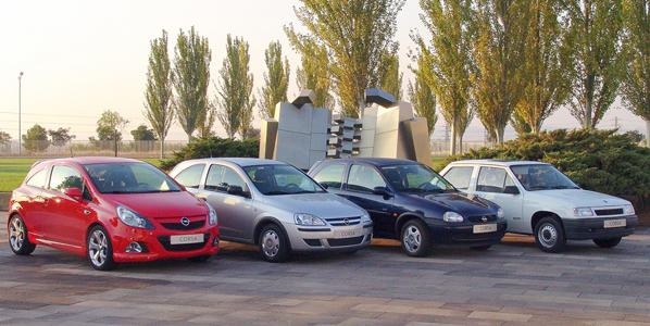 Opel Corsa, 30 años de historia