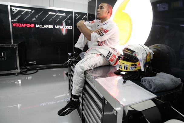 Lewis Hamilton, primera referencia