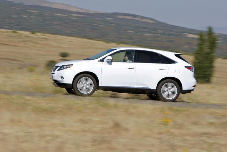Lexus RX 450h, al detalle