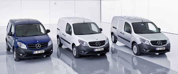 Mercedes-Benz Citan, la furgoneta ligera de tres carrocerías