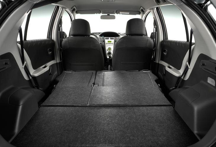 Si abatimos los asientos, lograremos un amplio espacio de carga.