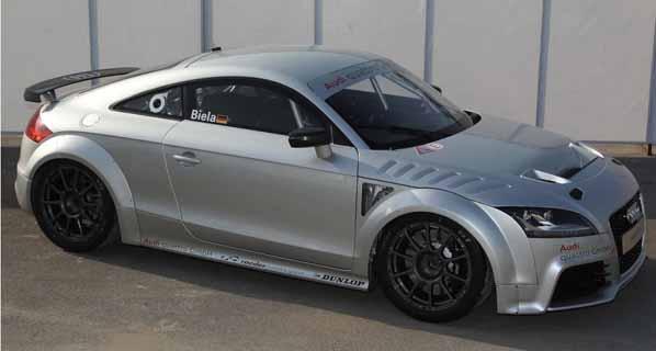 Audi presenta el TT GT4 Concept