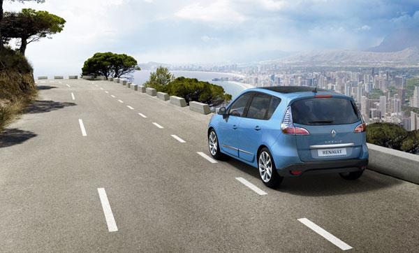 Renault Scenic Restyling