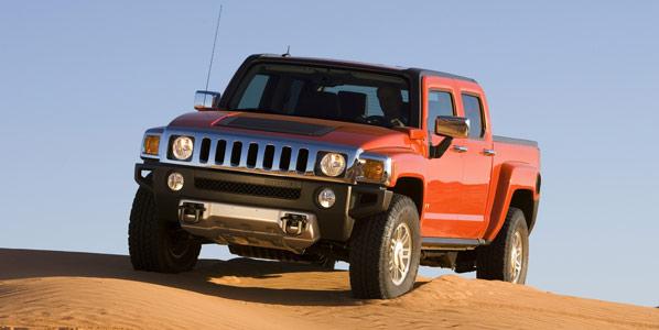 H3T: la pick-up de Hummer