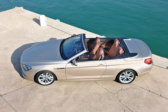 BMW Serie 6 Cabrio el contacto