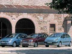 Citroën Xsara Picasso 1.6i / Daewoo Tacuma 1.6 SX / Kia Carens 1.8 LS