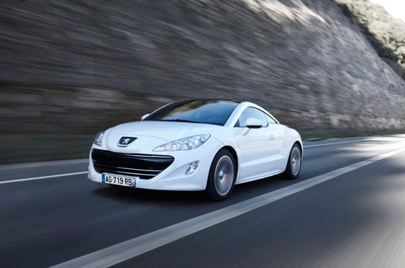 Peugeot RCZ, el contacto