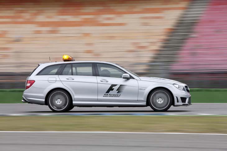 Mercedes C63 AMG Estate.