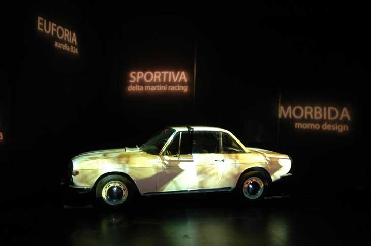 Espectáculo visual preparado por el cineasta Gian Piero Brunetta.